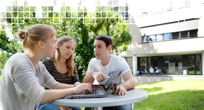 Imagebild E-Learning an der Evangelischen Hochschule Ludwigsburg